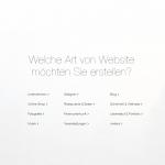 Webseitenerstellung mit Wix