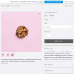 Wix-Online-Shop: Produkt-Ansicht